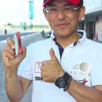 """チームスポンサー""""デンソー""""のfacebookページで上田監督とチームフロンティアが紹介されました。"""