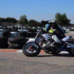 Sesión doble de entrenamiento hoy en el Circuito de Velocidad de Cartagena preparando por un lado, a Miquel Pons Payeras en la pista de pitbikes. De la mano de Russell Gómez y Train4Champs 💯