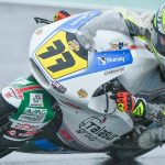 🇪🇸 En #Moto2, Miquel Pons Payeras era competitivo en condiciones de seco y mojado. Lo demostró acariciando el podio en la primera carrera, cuarto puesto para el balear.