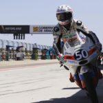🇪🇸 En #Moto3 Jason Dupasquier hizo una increíble QP2, llegando incluso a liderar el crono. Demostrando el buen ritmo para la carrera de mañana: ⬇️