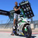 🇪🇸 Doble celebración con el cumpleaños de Davide Fabbri +21 para el piloto de #SuperSport ¡Felicidades Driddu! Nos vemos en Albacete 🎂🎉🎁🎊